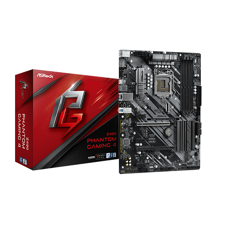 Asrock Z490 Phantom Gaming 4 (Z490 Phantom Gaming 4)