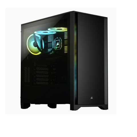 Case  Corsair 4000D TG Black (Mid Tower/Màu Đen)