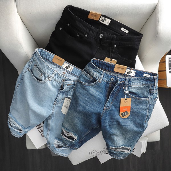 Quần short jean PB 3M new