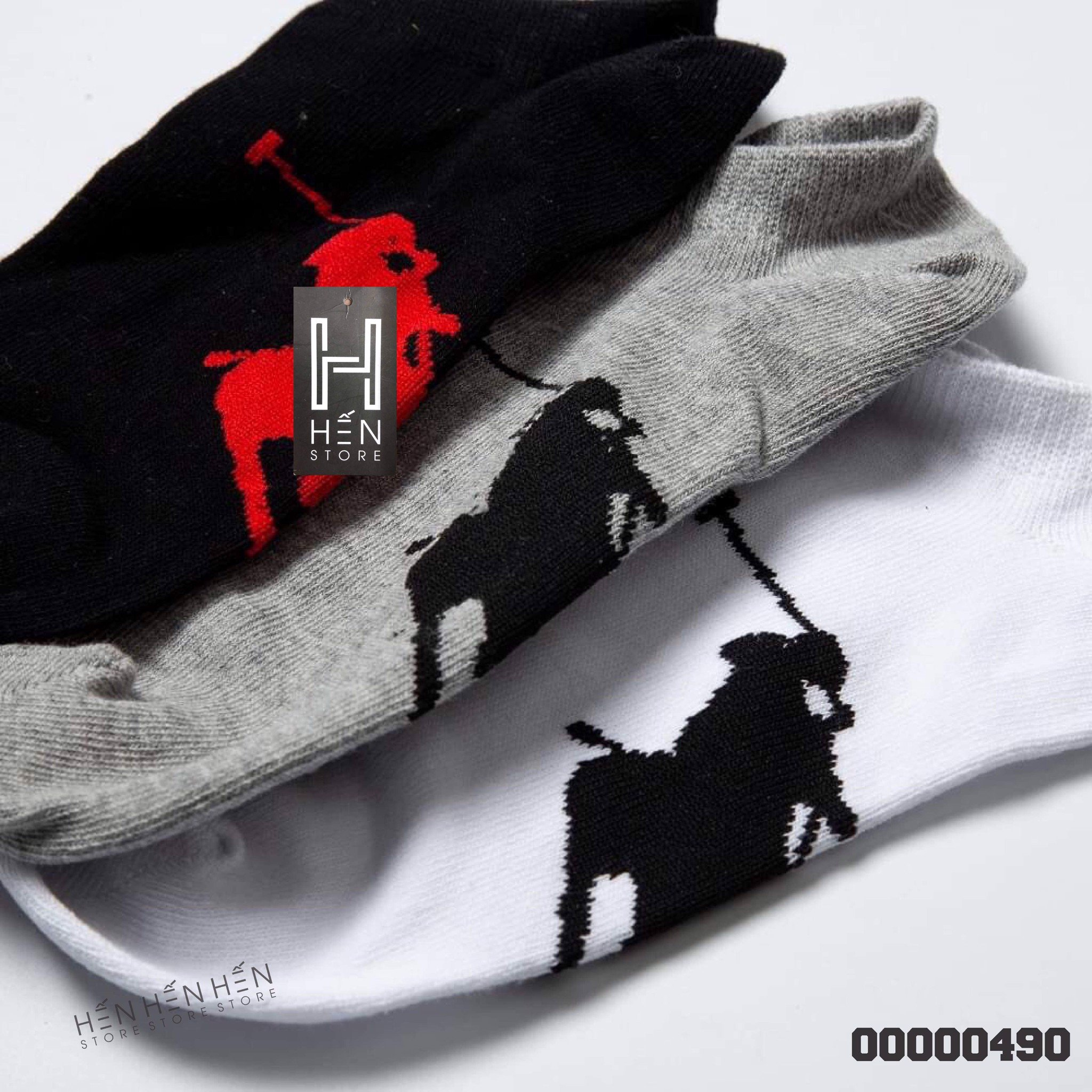 Vớ Polo pack 3