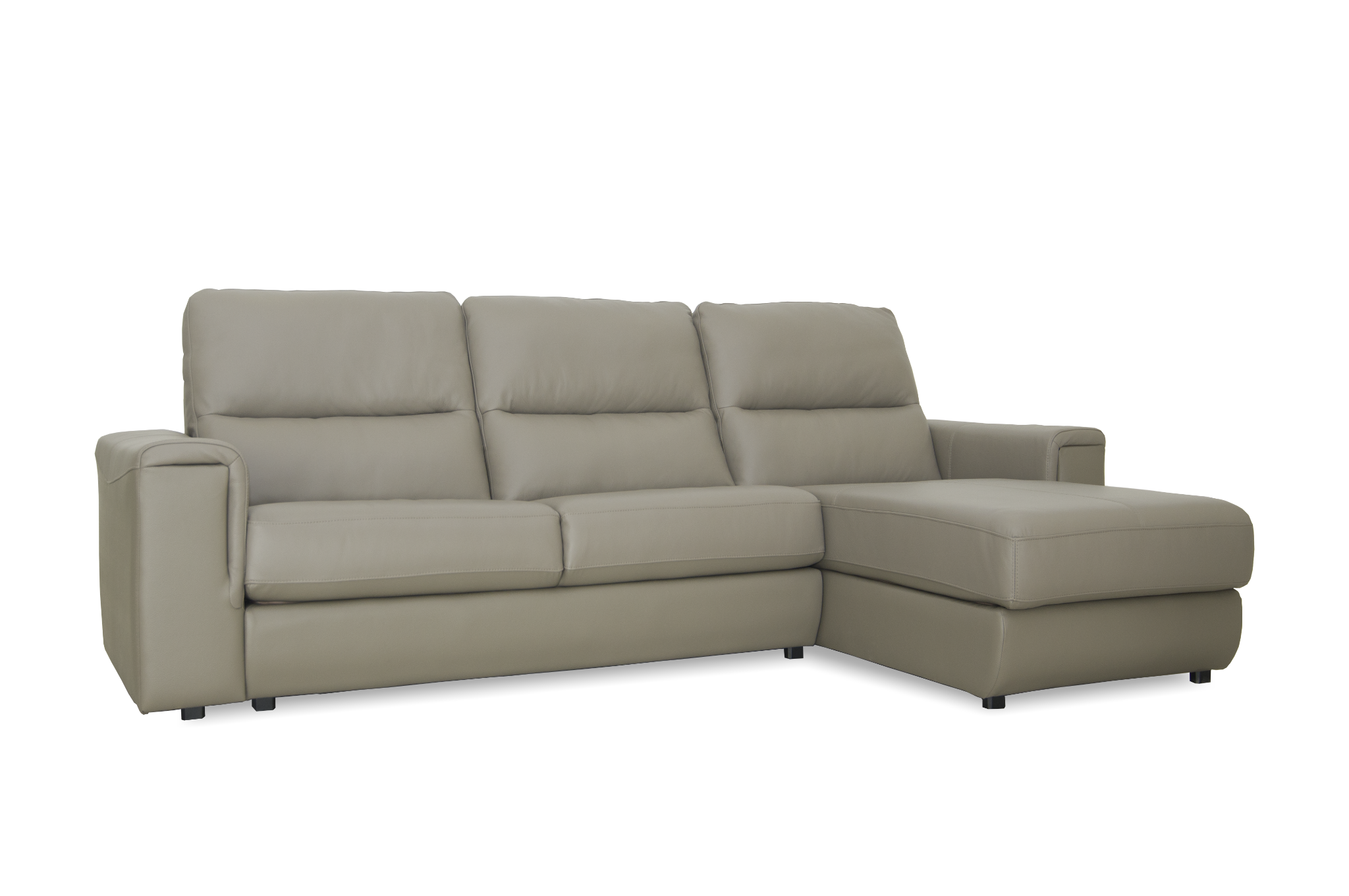 Sofa da nhập khẩu Babakagu N-QUEEN Dark Brown 431