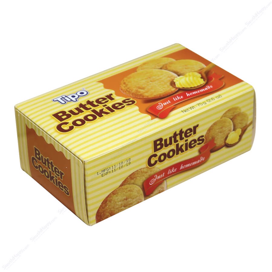 Bánh trứng Tipo butter cookies 75g
