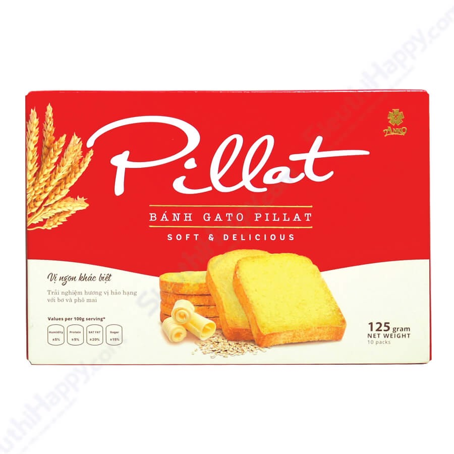 Bánh Gato Pillat soft & delicious (120g)