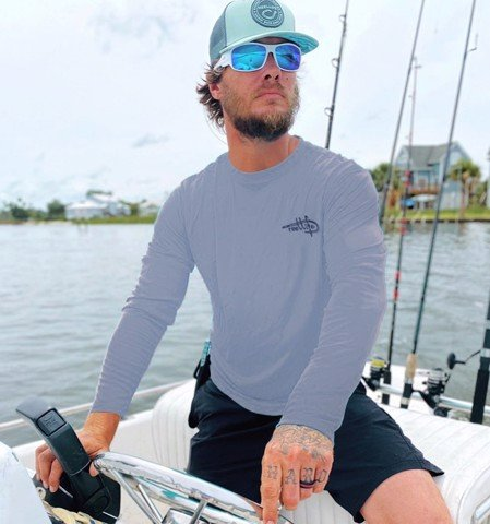 Áo Thun Đi Câu ReelLife Men's Long Sleeve UV Fishing Tee