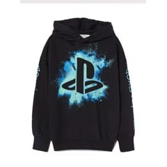 Áo Hoodie H&M Graphic Play Station