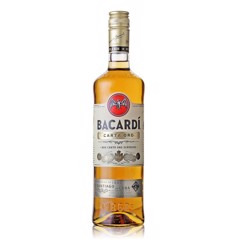 BACARDI - RƯỢU RUM SUPERIOR CARTA ORO GOLD 750ML