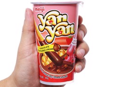 MEIJI - BÁNH YANYAN DOUBLE CREAM 44G