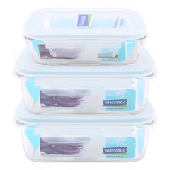 GLASSLOCK - BỘ LUNCH BOX 400 2x715