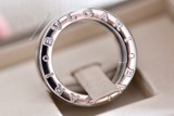 Bvlgari B.Zero1 3-Band 18k White Gold Ring 323530