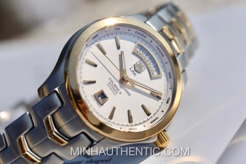 Tag Heuer Link Day Date Automatic 18kG/Steel WJF2050.BB0593