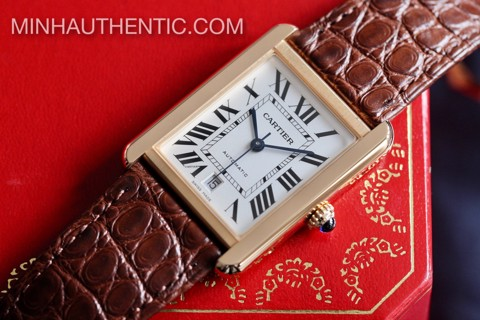 Cartier Tank Solo XL 18k Rose Gold W5200026