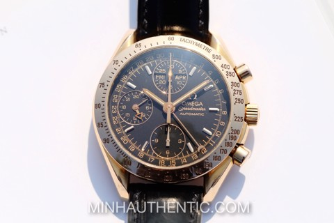 Omega Speedmaster Day-Date 18k Rose Gold 3623.50.11