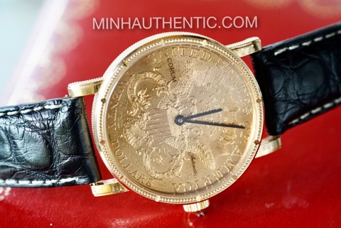 Corum Heritage Coin 18k Gold Automatic 293.645.56/0001 MU51
