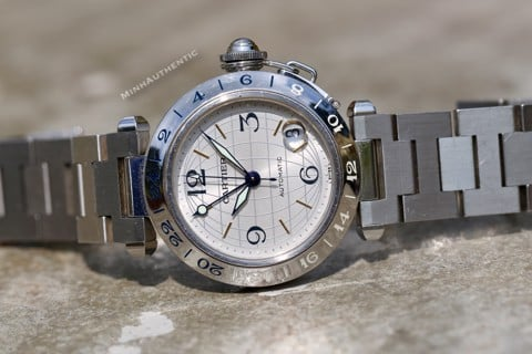 Cartier Pasha C GMT 2377