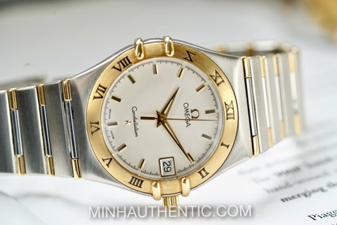 Omega Constellation Quartz 18k Gold/Steel 1312.30.00