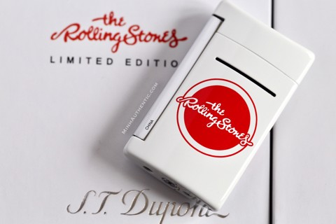 S.T. Dupont Minijet Rolling Stones Limited Edition Blanc 010109RS