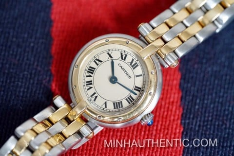 Cartier Panthere Vendome 2-row 18k Gold/Steel