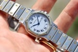 Cartier Santos Octagon Automatic 30mm 18k Gold/Steel