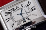 Cartier Tank Americaine Automatic 18k White Gold 1741 W2603256
