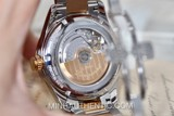 Longines Conquest Classic GMT 18k Rose Gold/Steel L2.799.5.76.7