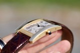 Cartier Tank Americaine Automatic 18k Gold 1740