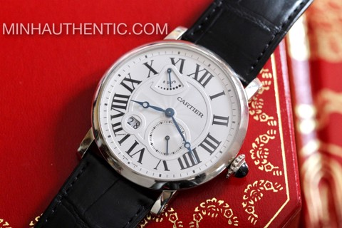 Cartier Rotonde 8 Days 18k White Gold W1556202 3324