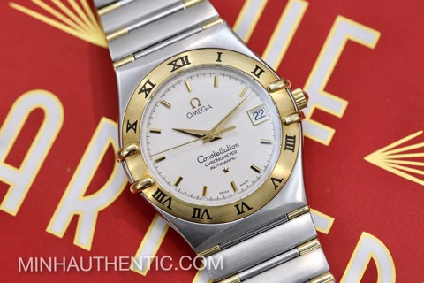 Omega Constellation Chronometer 18k Gold/Steel 1302.30.00