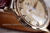 Omega Constellation De Luxe Stepped Pie Pan Arrowhead 18k Rose Gold 2852/2853 SC