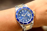 Rolex Submariner Date Blue 18k Gold/Steel 16613