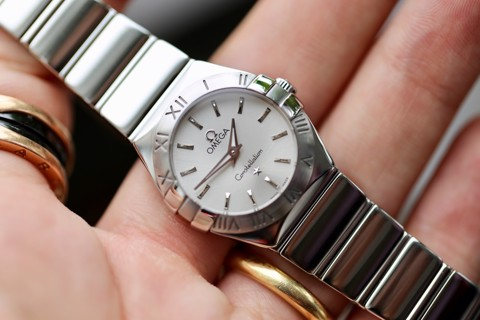 Omega Constellation Quartz 123.10.24.60.02.002