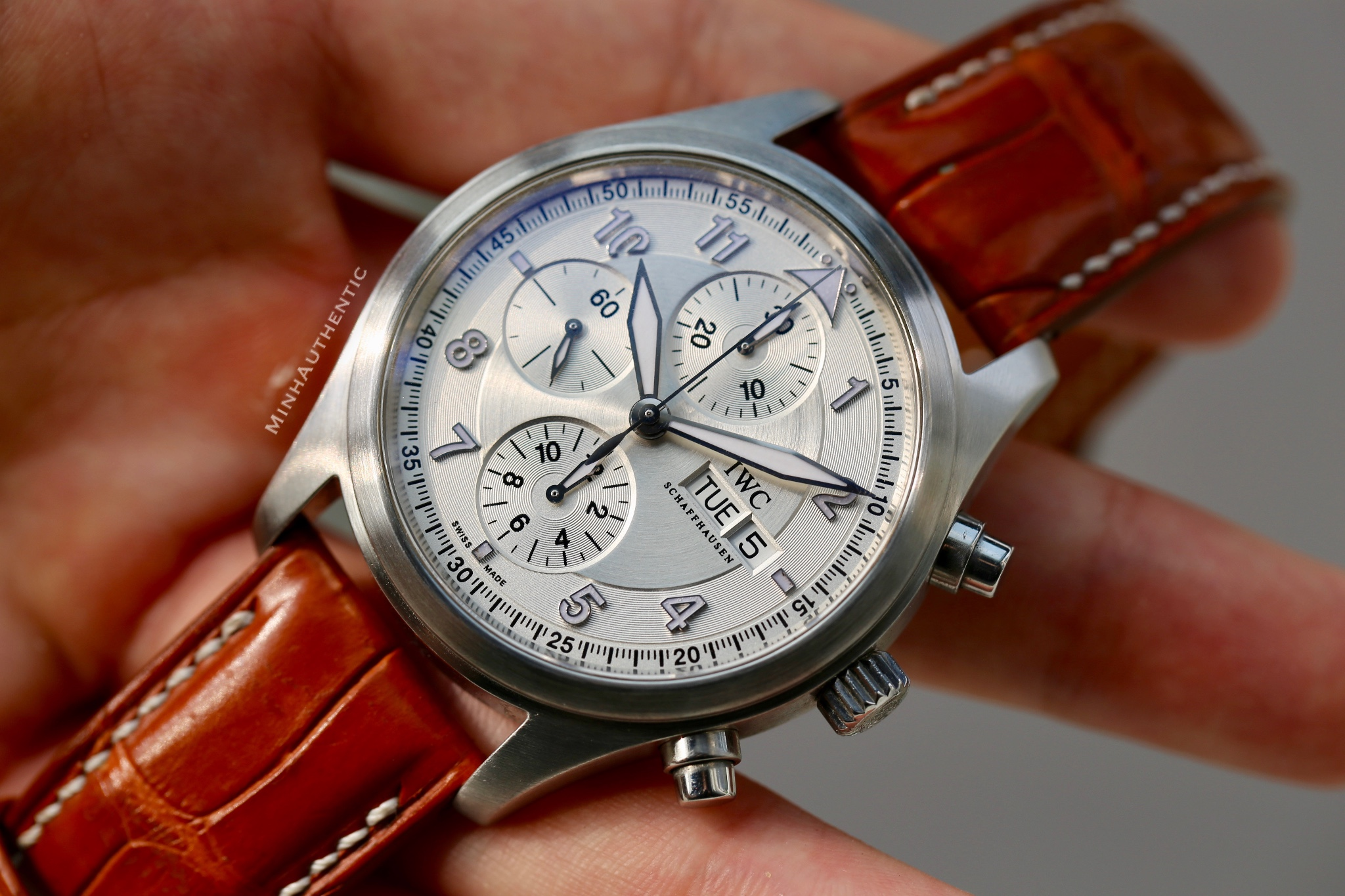 IWC Pilot Spitfire Chronograph Automatic IW3717-02