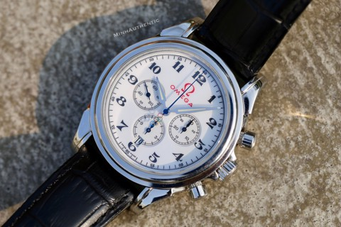 Omega De Ville Olympic Automatic Co-axial Chronometer Chronograph 4846.20.32
