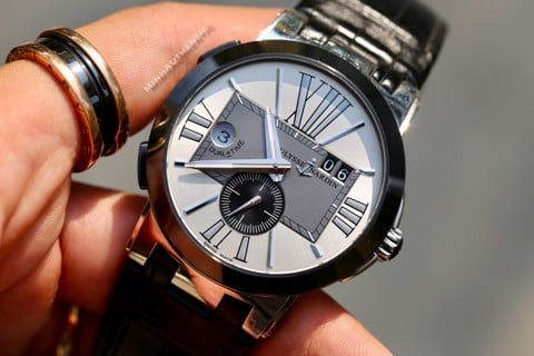 Ulysse Nardin Executive Dual Time automatic 243-00/421