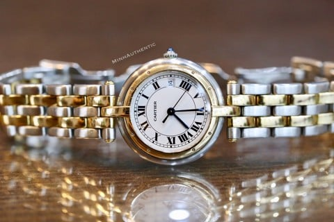 Cartier Panthere Vendome 18k Gold/Steel 30mm