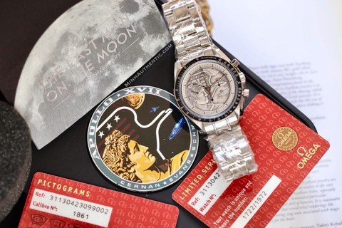 "Omega Speedmaster Moonwatch ""Apollo XVII"" 311.30.42.30.99.002"