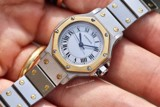 Cartier Santos Octagon Automatic 24mm 18k Gold/Steel