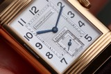 Jaeger LeCoultre Reverso Duo 18k Rose Gold 270.2.54