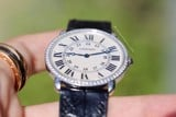 Cartier Ronde Louis 18k White Gold Diamond WR000551