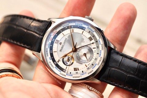 Maurice Lacroix Masterpiece Tradition Worldtimer Automatic MP6008-SS001-110