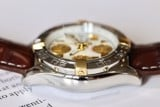 Breitling Chrono Galactic 18k Gold/Steel B13358