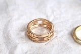 Bvlgari Parentesi Ring 18k Rose Gold AN855211