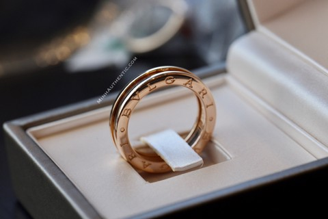 Bvlgari B.zero1 1-band 18k Rose Gold Ring AN852422