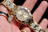 Rolex Datejust Pearlmaster Automatic 18k Gold/Diamonds 69318