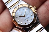 Omega Constellation My Choice 18k Gold/Steel MOP 1361.71.00