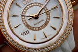 Christian Dior VIII Automatic 18k Rose Gold/Diamond CD1235H1C001