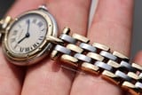 Cartier Panthere Vendome 3-Row 18k Gold/Steel