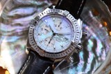 Breitling Chronomat Evolution Mother of Pearl A13356