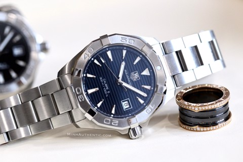 TAG Heuer Aquaracer Blue Calibre 5 Automatic WAY2112.BA0928