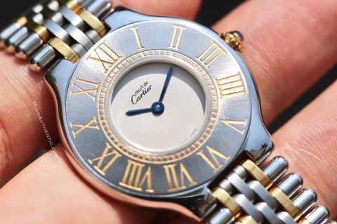 Cartier Must 21 Steel/Gold 31mm