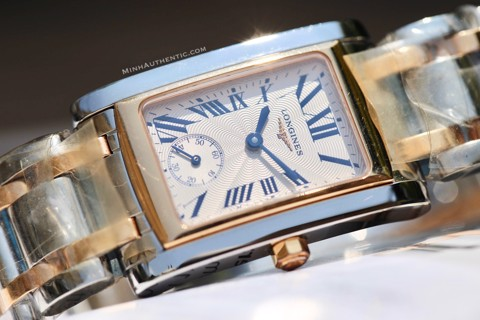 Longines Dolce Vita 18k Rose Gold/Steel L5.502.5.71.7